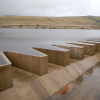 Swinden No. 1 Reservoir Labyrinth Weir: