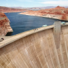 Glen Canyon Dam, Arizona, USA: