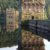 Howden Reservoir in the upper Derwent Valley: