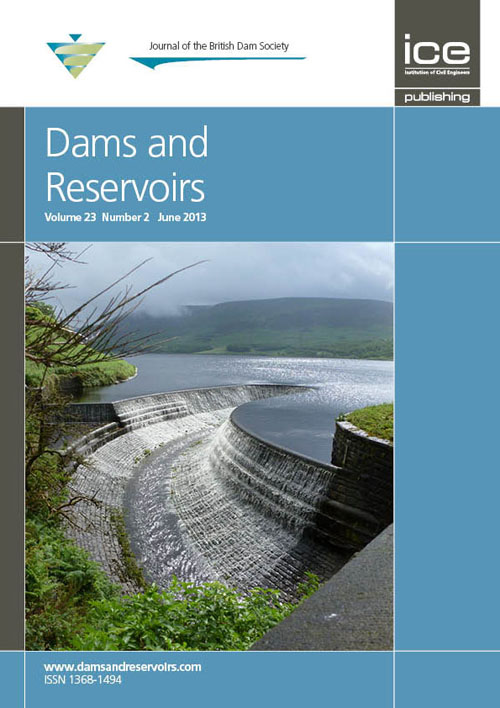 Dams & Reservoirs journal front cover