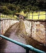 Spillway chute